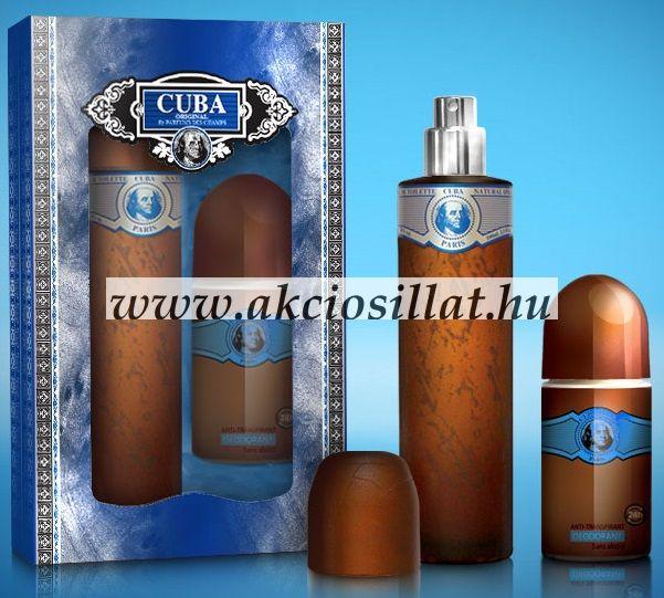 Cuba Blue ajándékcsomag (edt+deo)