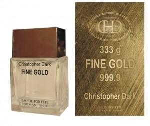Christopher Dark Fine Gold EDT 100ml / Paco Rabanne 1 Million parfüm utánzat