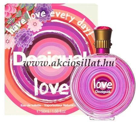 Desigual Love parfüm EDT 50ml