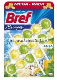 Bref Escapes Power Aktiv Cuba Sensation WC-frissítő 3x50g