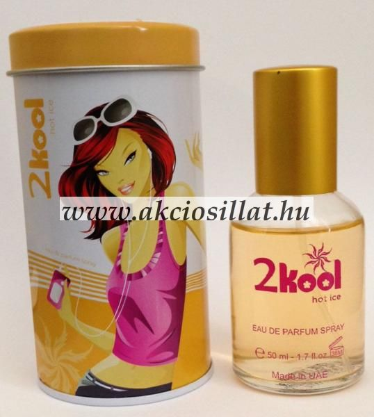 2Kool - Hot Ice EDT 50 ml