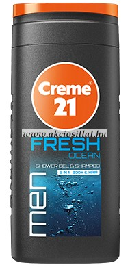 Creme21 Fresh Ocean tusfürdő és sampon 250ml