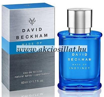 David Beckham Made of Instinct parfüm EDT 50ml