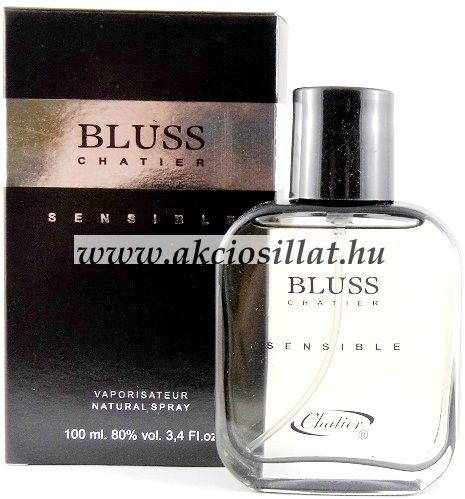 Chatier - Bluss Sensible Black Men EDT 100ml / Hugo Boss Selection parfüm utánzat