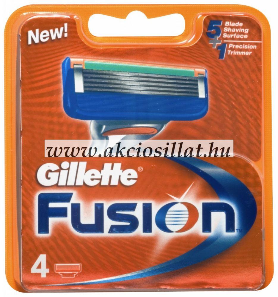 Gillette Fusion borotvabetét 4db-os